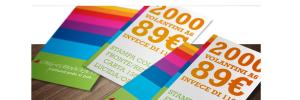 Promo shop: 2000 volantini 89,00€